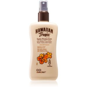 Hawaiian Tropic Satin Protection opalovací sprej SPF 8 200 ml