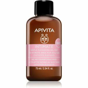 Apivita Intimate Care Chamomile & Propolis jemný gel na intimní hygienu pro každodenní použití 75 ml