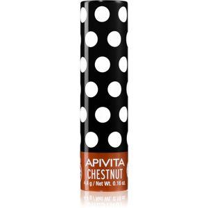 Apivita Lip Care Chestnut tónující balzám na rty 4,4 g