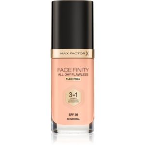 Max Factor Facefinity make-up 3 v 1 odstín 50 Natural SPF20 30 ml