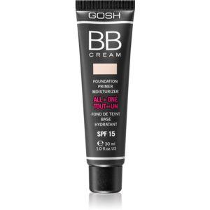 Gosh X-ceptional hydratační BB krém SPF 15 odstín 002 Beige 30 ml