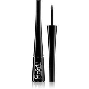 Gosh Eye Liner Pen oční linky v peru odstín Black 2,5 ml
