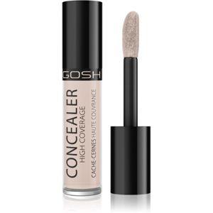 Gosh Concealer korektor s vysokým krytím odstín 002 Ivory 5,5 g