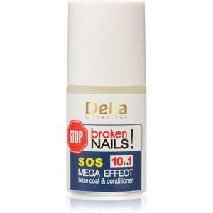 Delia Cosmetics Coral profesionální péče na nehty 10 v 1 11 ml