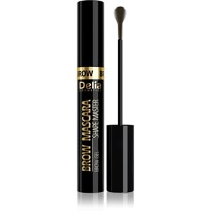 Delia Cosmetics Brow Mascara Shape Master řasenka na obočí odstín 01 Light Brown 11 ml