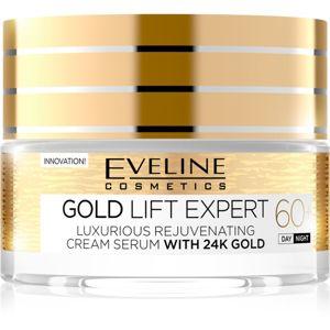 Eveline Cosmetics Gold Lift Expert denní a noční krém 60+ s omlazujícím účinkem 50 ml
