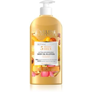 Eveline Cosmetics Botanic Expert výživné tělové mléko pro suchou pokožku 350 ml