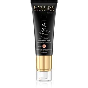 Eveline Cosmetics Matt My Day dlouhotrvající make-up odstín 04 Beige 40 ml