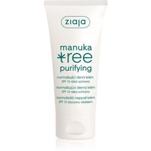 Ziaja Manuka Tree Purifying normalizující denní krém SPF 10 50 ml