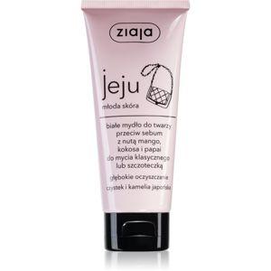 Ziaja Jeju Young Skin čisticí mýdlo na obličej 75 ml