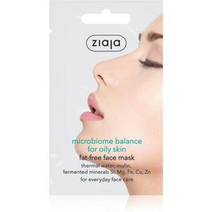 Ziaja Microbiome Balance pleťová maska na regulaci kožního mazu 7 ml
