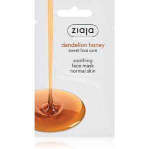 Ziaja Dandelion Honey výživná medová maska 7 ml