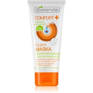 Bielenda Comfort+ krémová maska s peelingovým účinkem na zrohovatělou pokožku chodidel 100 ml