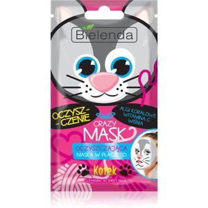Bielenda Crazy Mask Kitty čisticí maska 3D 1 ks