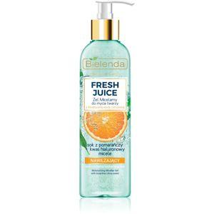 Bielenda Fresh Juice Orange čisticí micelární gel s hydratačním účinkem 190 g