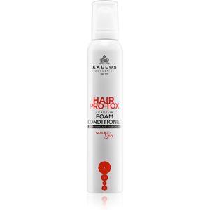 Kallos Hair Pro-Tox bezoplachový kondicionér pro slabé, namáhané vlasy 200 ml