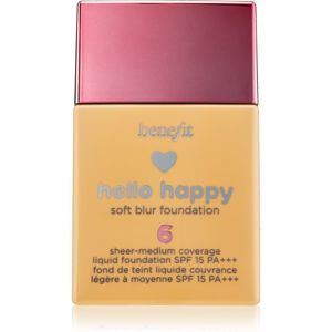 Benefit Hello Happy tekutý make-up SPF 15 odstín 06 30 ml