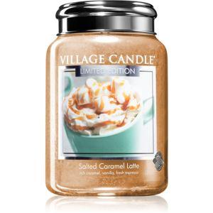 Village Candle Salted Caramel Latte vonná svíčka 602 g