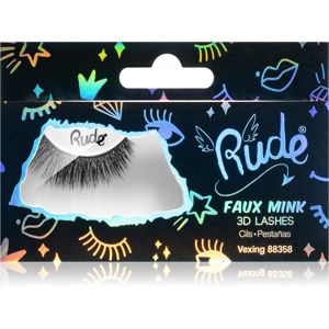 Rude Cosmetics Essential Faux Mink 3D Lashes nalepovací řasy Vexing