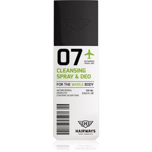 Hairways Travel Essentials deodorant a tělový sprej 100 ml