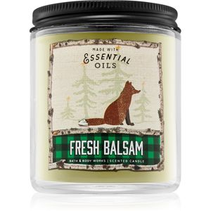 Bath & Body Works Fresh Balsam vonná svíčka I. 198 g
