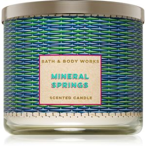 Bath & Body Works Mineral Springs vonná svíčka 411 g