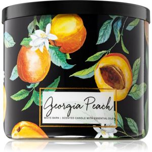 Bath & Body Works Georgia Peach vonná svíčka II. 411 g