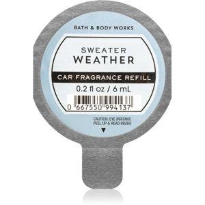Bath & Body Works Sweater Weather vůně do auta náhradní náplň 6 ml