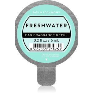 Bath & Body Works Freshwater vůně do auta náhradní náplň 6 ml