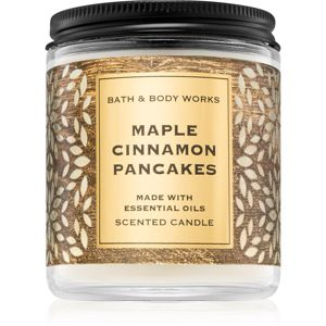 Bath & Body Works Maple Cinnamon Pancakes vonná svíčka II. 198 g