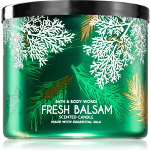 Bath & Body Works Fresh Balsam vonná svíčka 411 g