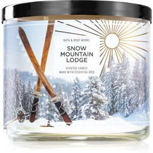 Bath & Body Works Snow Moutain Lodge vonná svíčka 411 g