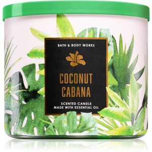 Bath & Body Works Coconut Cabana vonná svíčka 411 g