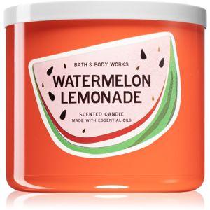Bath & Body Works Watermelon Lemonade vonná svíčka IV. 411 g