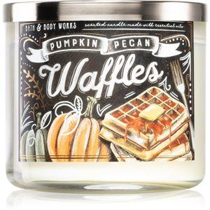Bath & Body Works Pumpkin Pecan Waffles vonná svíčka II. 411 g