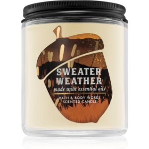 Bath & Body Works Sweater Weather vonná svíčka I. 198 g