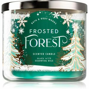 Bath & Body Works Frosted Forest vonná svíčka 411 g