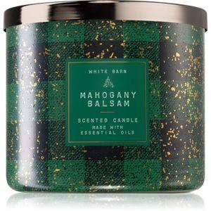 Bath & Body Works Mahogany Balsam vonná svíčka II. 411 g