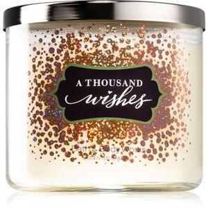 Bath & Body Works A Thousand Wishes vonná svíčka I. 411 g