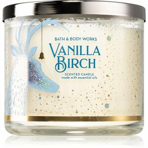 Bath & Body Works Vanilla Birch vonná svíčka III. 411 g