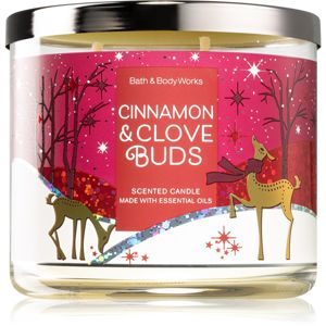 Bath & Body Works Cinnamon & Clove Buds vonná svíčka II. 411 g