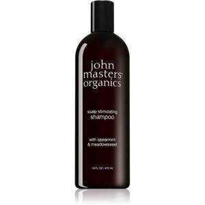 John Masters Organics Scalp stimulující šampon pro mastné vlasy a vlasovou pokožku 473 ml