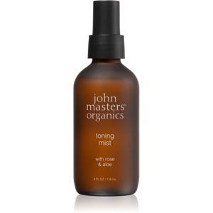 John Masters Organics Rose & Aloe tonizační pleťová mlha 118 ml