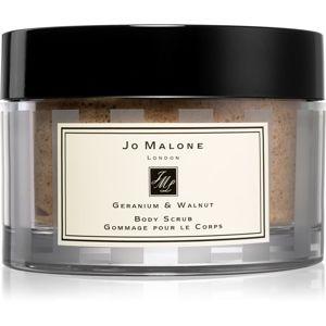 Jo Malone Geranium & Walnut pečující tělový peeling 200 g