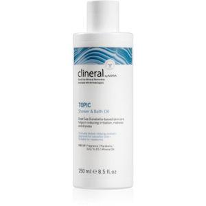 Ahava Clineral TOPIC sprchový a koupelový olej pro atopickou pokožku 250 ml