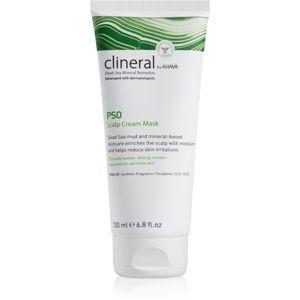 Ahava Clineral PSO intenzivní hydratační maska pro podrážděnou pokožku hlavy 200 ml