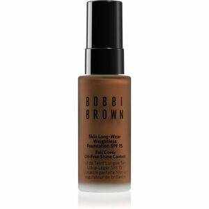 Bobbi Brown Mini Skin Long-Wear Weightless Foundation dlouhotrvající make-up SPF 15 odstín Almond 13 ml