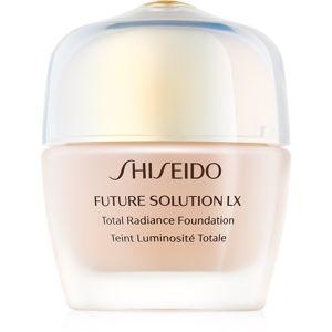Shiseido Future Solution LX Total Radiance Foundation omlazující make-up SPF 15 odstín Rose 4/ Rosé 4 30 ml