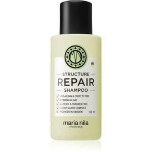 Maria Nila Structure Repair šampon pro suché a poškozené vlasy 100 ml