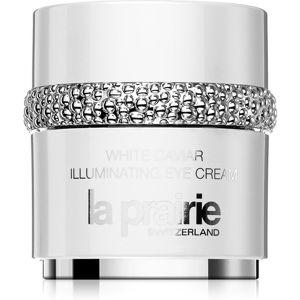La Prairie White Caviar rozjasňující oční krém proti otokům a tmavým kruhům 20 ml